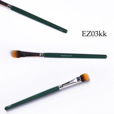 EZ03kk pędzel do makijażu ( mix włosie syntetyczne i naturalne) nylon/koza