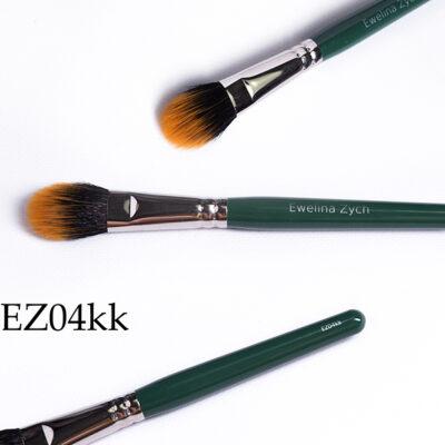 EZ04kk pędzel do makijażu ( mix włosie syntetyczne i naturalne) nylon/koza