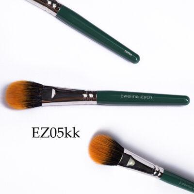 EZ05kk pędzel do makijażu ( mix włosie syntetyczne i naturalne) nylon/koza