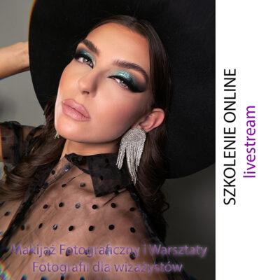 Szkolenie Online – Makijaż Fotograficzny i Warsztaty Fotografii dla wizażystów