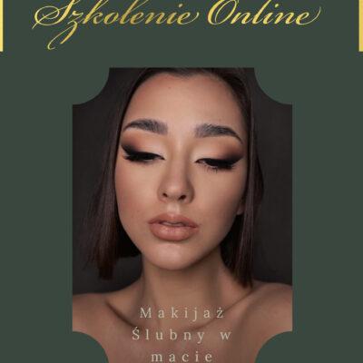Szkolenie online – Matowy Makijaż Ślubny